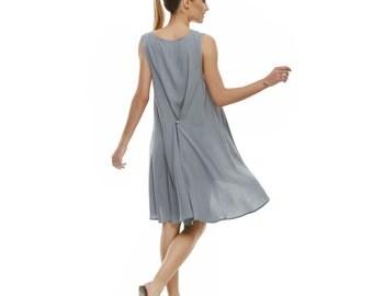 Windy Button Dress