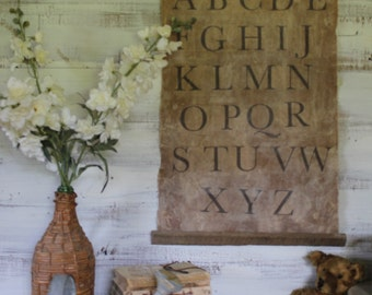 Large Alphabet Banner