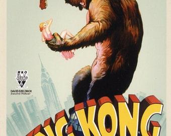 KING KONG Movie Poster (1933)