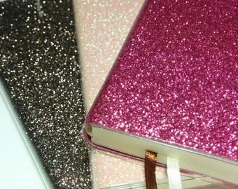 Gorgeous Glitter Notebooks