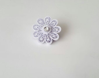 Set of 2 Quilled Snowflake Ornament