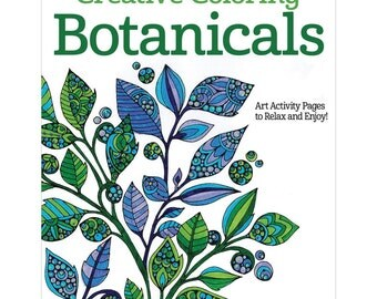 Creative Coloring Botanicals - Adult Coloring Book by Design Originals