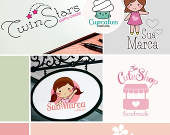 Custom Logo Design - Custom Business Logo Design - Sweet Logo Design KIT