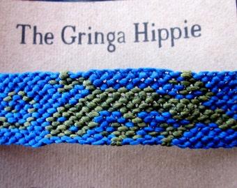 Gecko  Woven Friendship Bracelet Lizard Macrame Lizard Woven Bracelet Gecko Bracelet