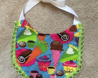 Adorable Baby Birthday Bib