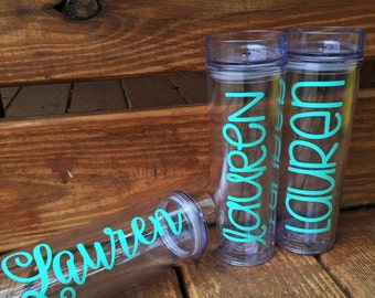 Personalized Tumbler | Bridesmaid Gift | Bachelorette Gift | Unique Gift