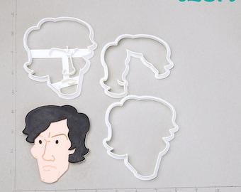 Sherlock Cutter sherlock scarf,sherlock holmes scarf,sherlock necklace,sherlock candle,128A