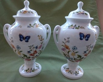 """AYNSLEY, English Bone China, Collectible, """"Cottage Garden"""", 1980's, Vintage"""