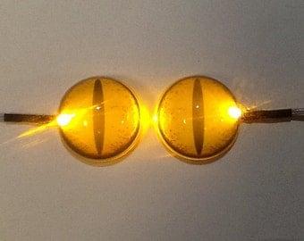 LED glow eyes 38mm fursuit head 1 Pair