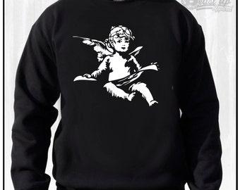 GOOD MUSIC ANGEL Crew Neck Sweater Yeezy Dj Music