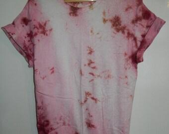 Unique Tie Dye T-Shirt acid wash T-shirt hipster festival trash grunge Retro 90s indie dip dye unisex rave skate top