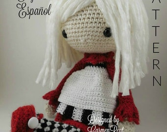 Elvira - Amigurumi Doll Crochet Pattern PDF