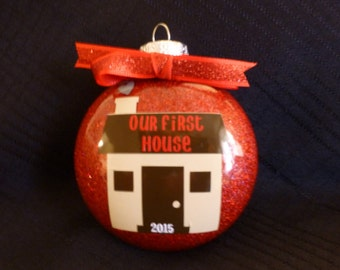 First House Ornament