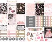 Fashionista Weekly Planner Sticker Kit for Erin Condren, Happy Planner, Filofax, Kikki K, Kate Spade etc