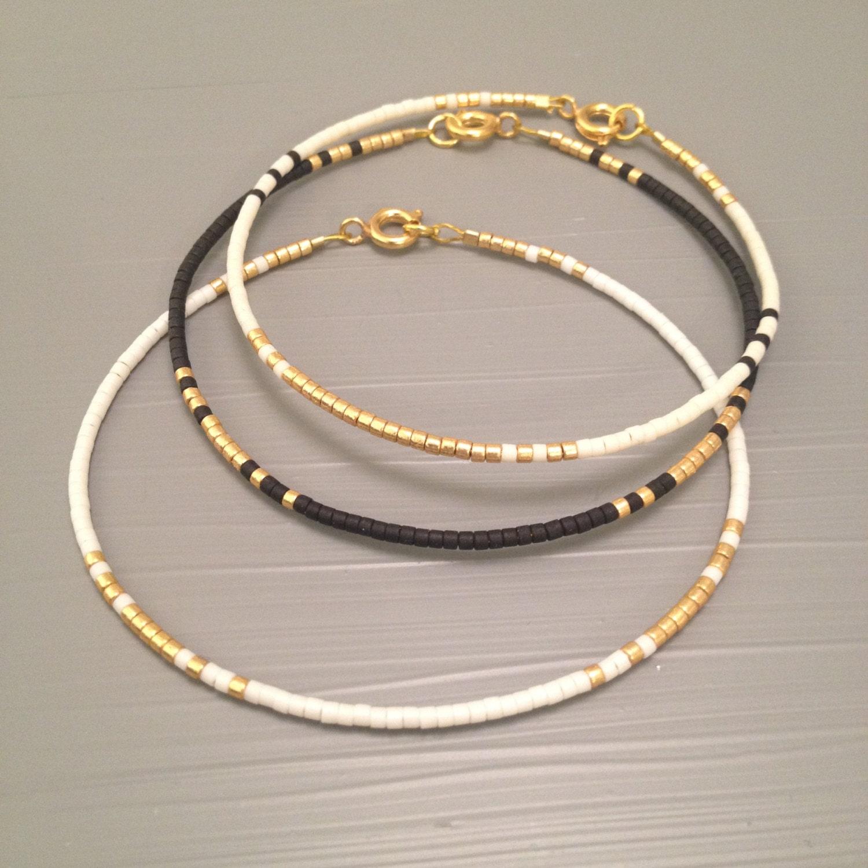 Beaded Charm Bracelets: Stackable Bracelet Stack Bracelet Set Bracelet Stack Wrap Seed