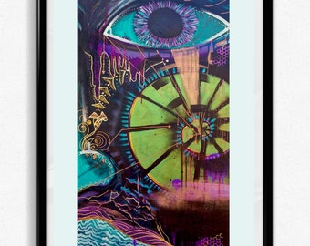 Eye Am // Art Print // Limited Edition out of 100