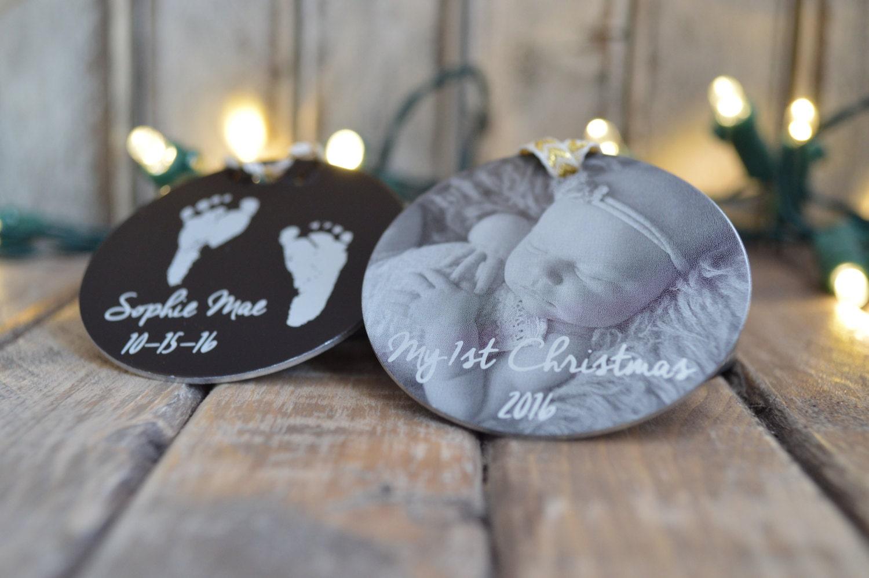 Custom first christmas ornament - 1