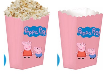 Peppa pig treat boxes
