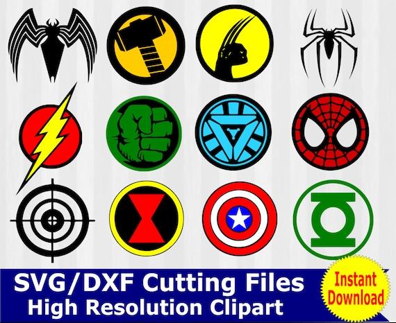superhero svg superhero clipart superhero logo svg by