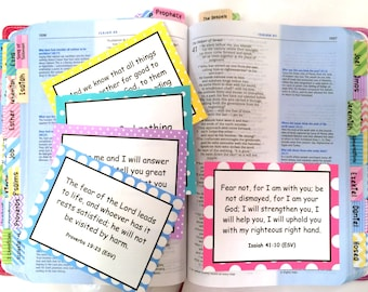 DIGITAL DOWNLOAD Series #1 Scripture Memory Cards: Hope (20 Count), Bible Verse Cards (Standard License) by Victoria Anderson