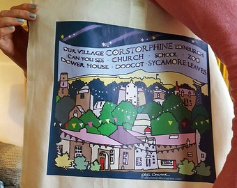 Corstorphine tote bag