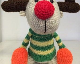 Red nose-reindeer
