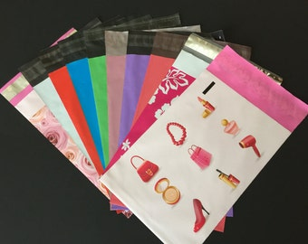 200 6x9 YOU CHOOSE COLORS Poly Mailers Self Sealing Envelopes Shipping Bags Assortment