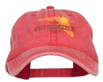 Florida Sunshine State Embroidered Cap