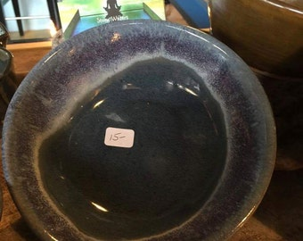 Small blue porcelian bowl