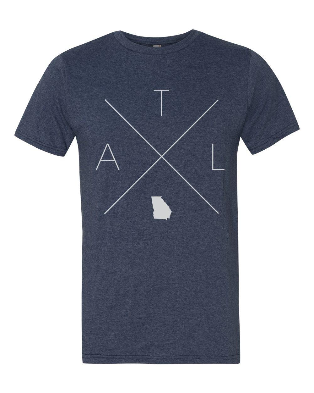 Georgia home t shirt atlanta shirt atl shirt for Atlanta custom t shirts