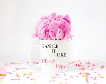 Olivia Pope, Scandal mug, Olivia Pope mug, Scandal gift Olivia Pope gift Scandal TV Scandal TV Show Scandal Olivia Pope, Ready Set Champagne
