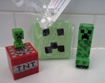minecraft creeper soap