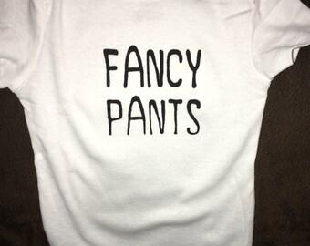 Fancy Pants Onesie
