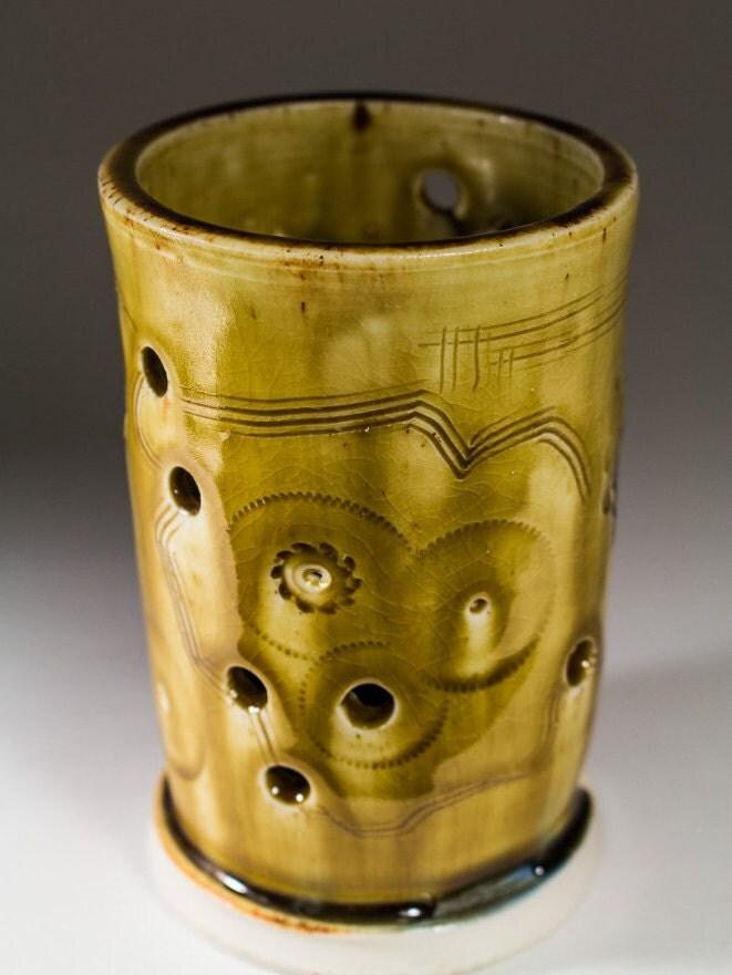 Ceramic Tealight Votive Candle Holder By Angelawilsonceramics