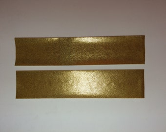 Mystique iron-on fabric strips for D.I.Y. Jumbo size cheer bows.