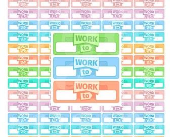 PRINTABLE Work Planner Stickers Work Stickers Work Planner Stickers Erin Condren Work Stickers Work planner Stickers for Planner