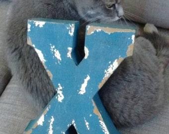 "Metal Letter ""X"""