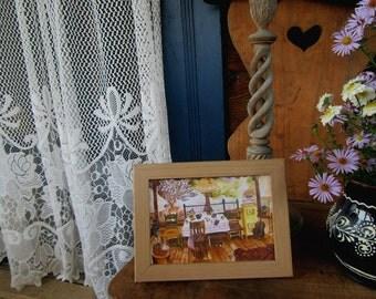 Postcard 'On the veranda'