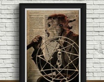 Slipknot art | Corey Taylor | heavy metal band | home interior | Slipknot print | vintage | postcards | newspaper design | Slipknot mask