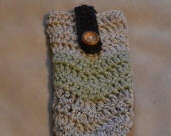 Handmade crochet phone cover