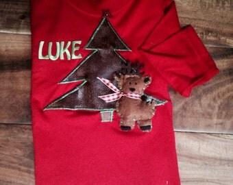 Boys Christmas shirt or onesie
