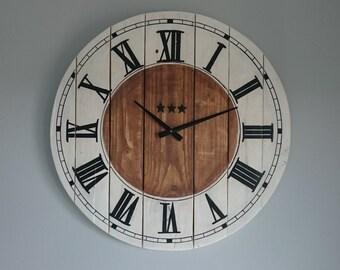 Handmade wall clock: 031