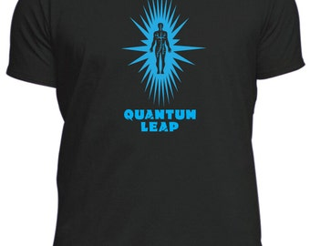 like QUANTUM LEAP new T-shirt tee tshirt all sizes TV male or female,different colours awesome retro classic cult T.V show