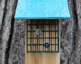 Hand Crafted Bird Suet Feeder