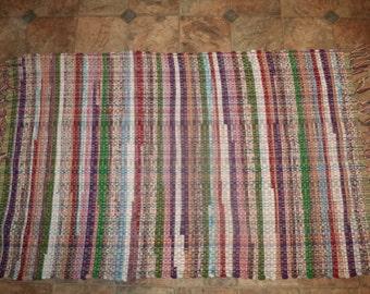 rag rug 42''X27''