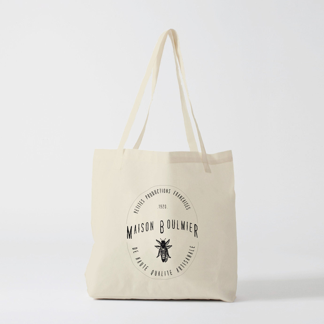 tote bag maison boulmier sac en toile sac coton sac. Black Bedroom Furniture Sets. Home Design Ideas