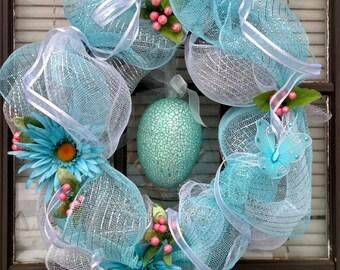 Spring Fever - Easter Deco-Mesh Wreath