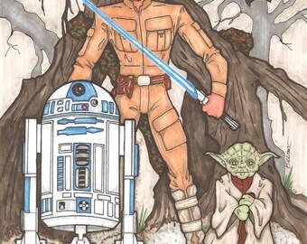 Star Wars Original Fan Art
