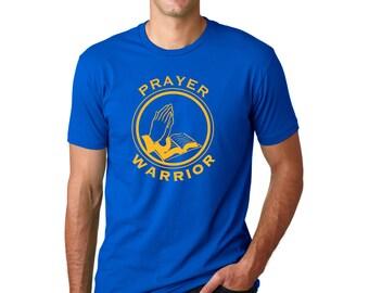 Prayer Warrior T-Shirt, Christian Apparel, Christian Clothing, Christian T-Shirt, Jesus Shirt