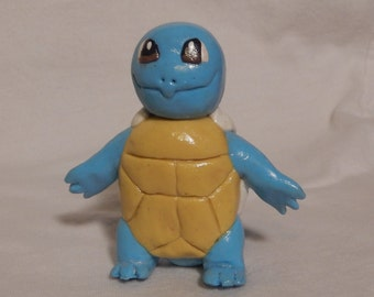 Pokemon Squirtle- Polymer Clay